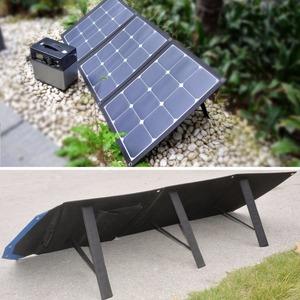 solar energy sun power 120 watt folding solar panel