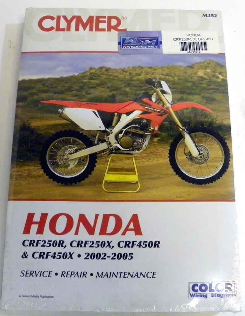 Get Quotations · ATV/Moto-X Honda Clymer Manual Models CRF 250R, 250X, 450R  (