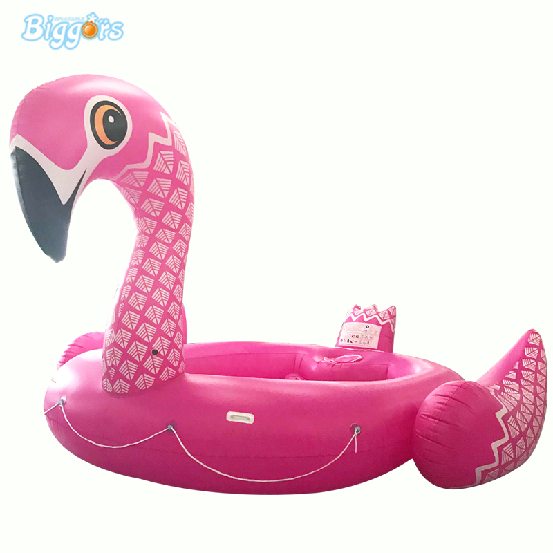 Giant Flamingo PVC Opblaasbare Zwemmen Ring Water Game Float Zwemmen Ring