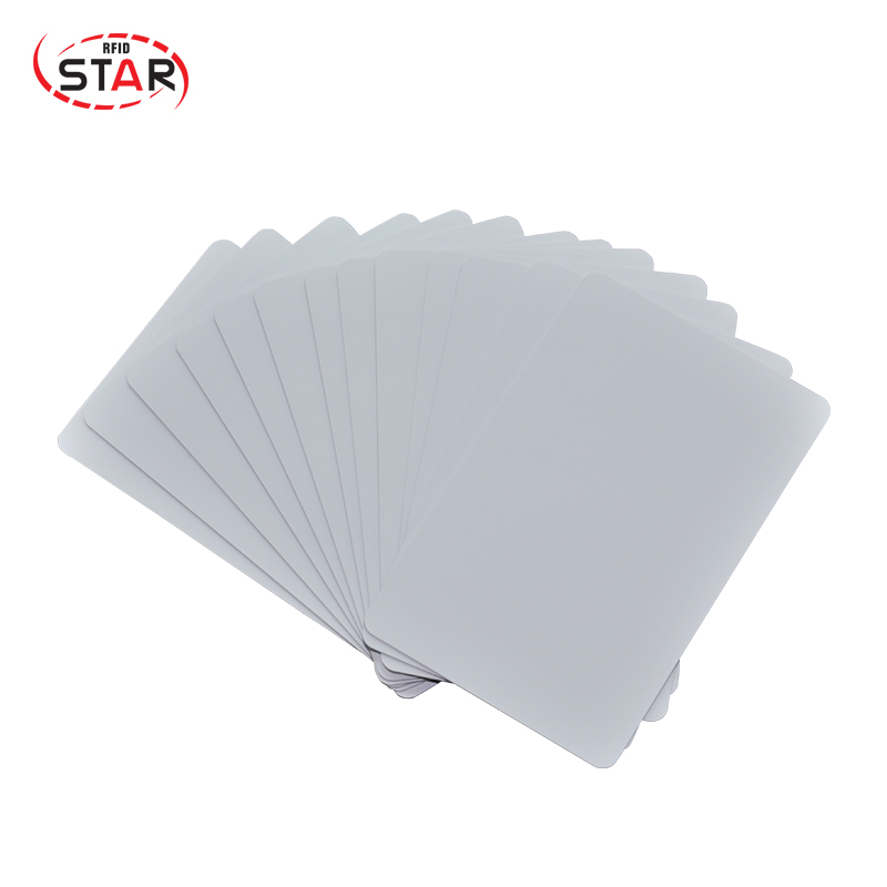 Blank White customized 13.56mhz ABS/PVC rfid smart card