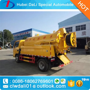 Septic Tank Cleaning Truck, Septic Tank Cleaning Truck