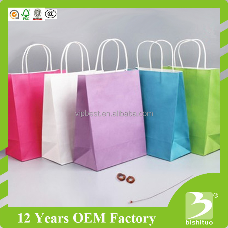Wholesale Low Price High Quality Kraft Paper Bag