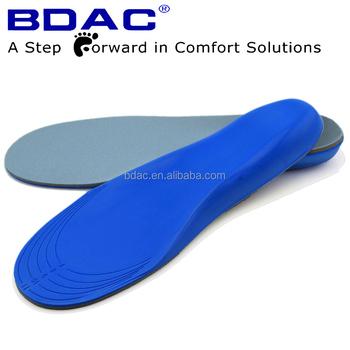 Soft Pu Foam Trimable Diabetic Foot Insoles Memory Foam Shoe