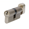 safety door lock cylinder with thumbturn