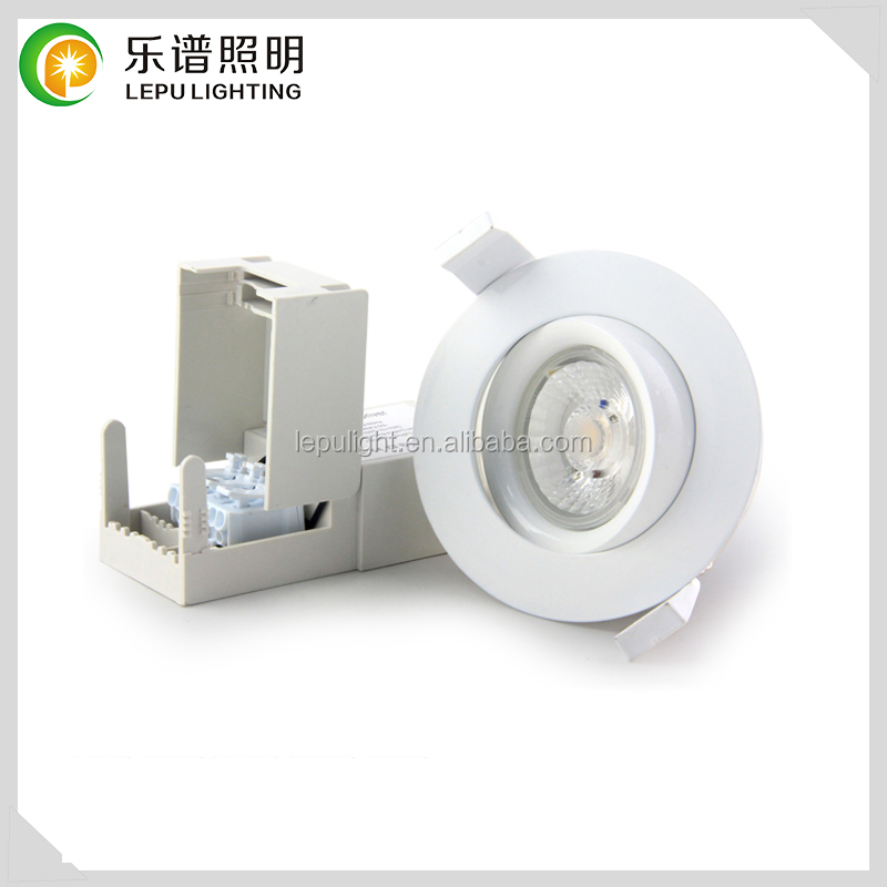 Lepu Patent design new recessed cob led downlight ip44 dimmable downlight led anti-glare actec driver Legrand cob 9wt