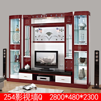 design wohnzimmerm bel holz tv st nder buy product on. Black Bedroom Furniture Sets. Home Design Ideas