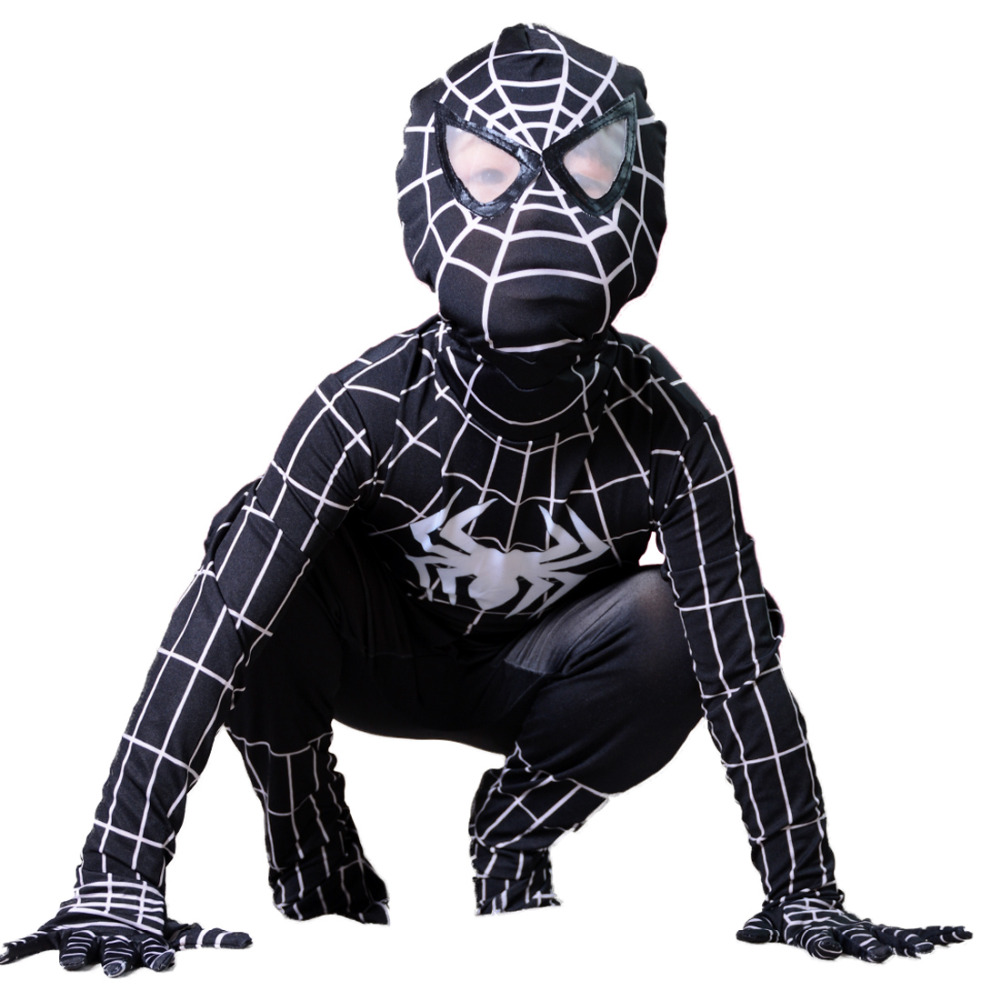 Spider-man Costumes. Showing 40 of results that match your query. Search Product Result. Product - Spider-Man Homecoming Spiderman Child Costume. Product Image. Product - Ultimate Black Spider-Man Muscle Chest Kids Costume - Medium (8 .