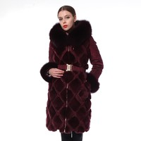 Made In China Elegant Winter Down Womens Formal Jacket