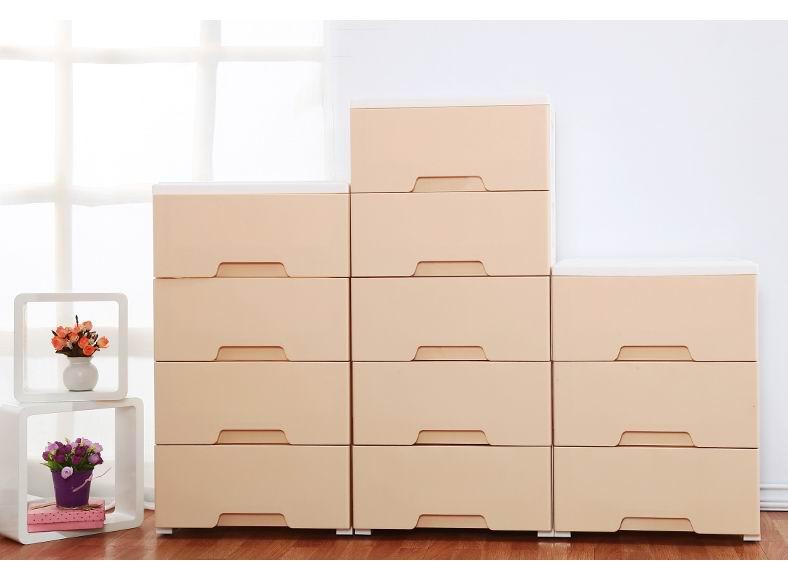 Cabinet Storages Keyway Plastic Storage Box Shallow Drawers
