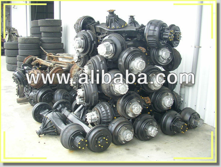 Used truck body parts