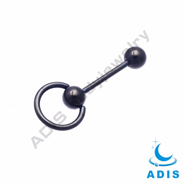 Best selling piercing jewelry G23 titanium tongue rings wholesale
