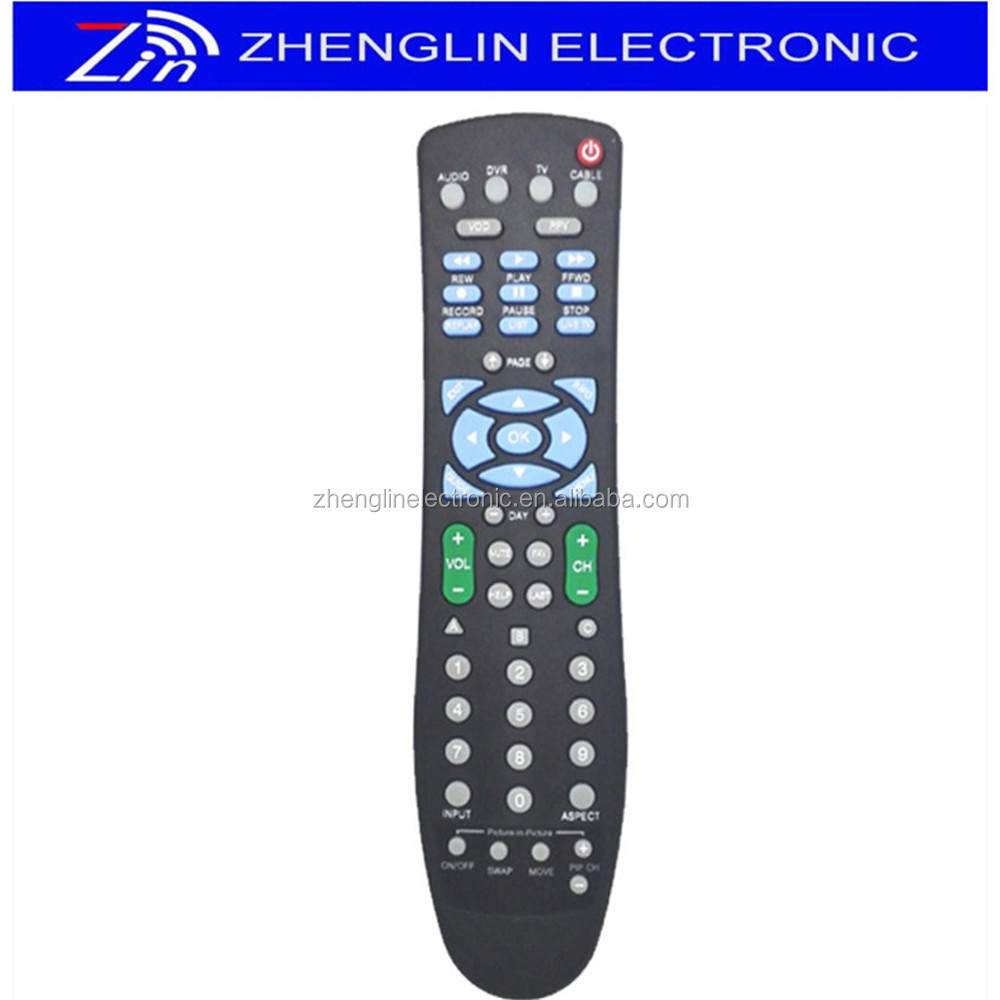 Wired TV Set Remote Control for Digital TV STB