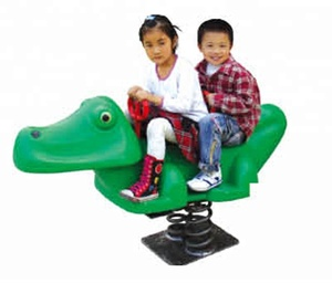 Amusement equipment rides Rocking dinosaur ride