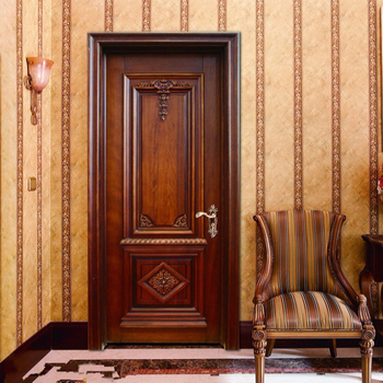 Modern Solid Wooden Interior Door/uxury Wooden Interior Doors