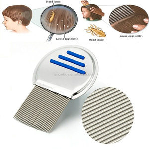 Nit Comb Stainless Steel Head Lice Comb