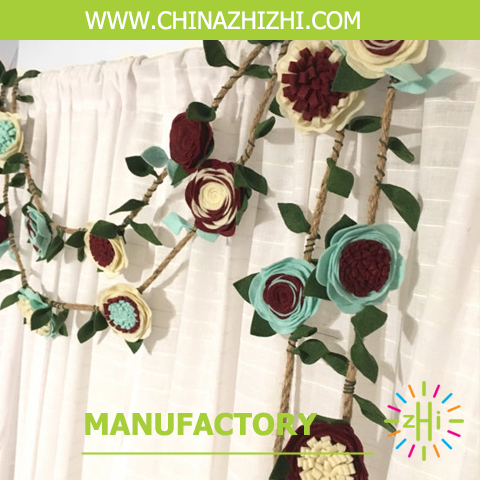 cheappest artificial flower garland artificial flowers wedding garland handmade garland for home decoration 2017