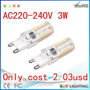 Hot Sale Led G9 400lm G9 Cob Led Lamp G9 Halogen Led Replacement ...