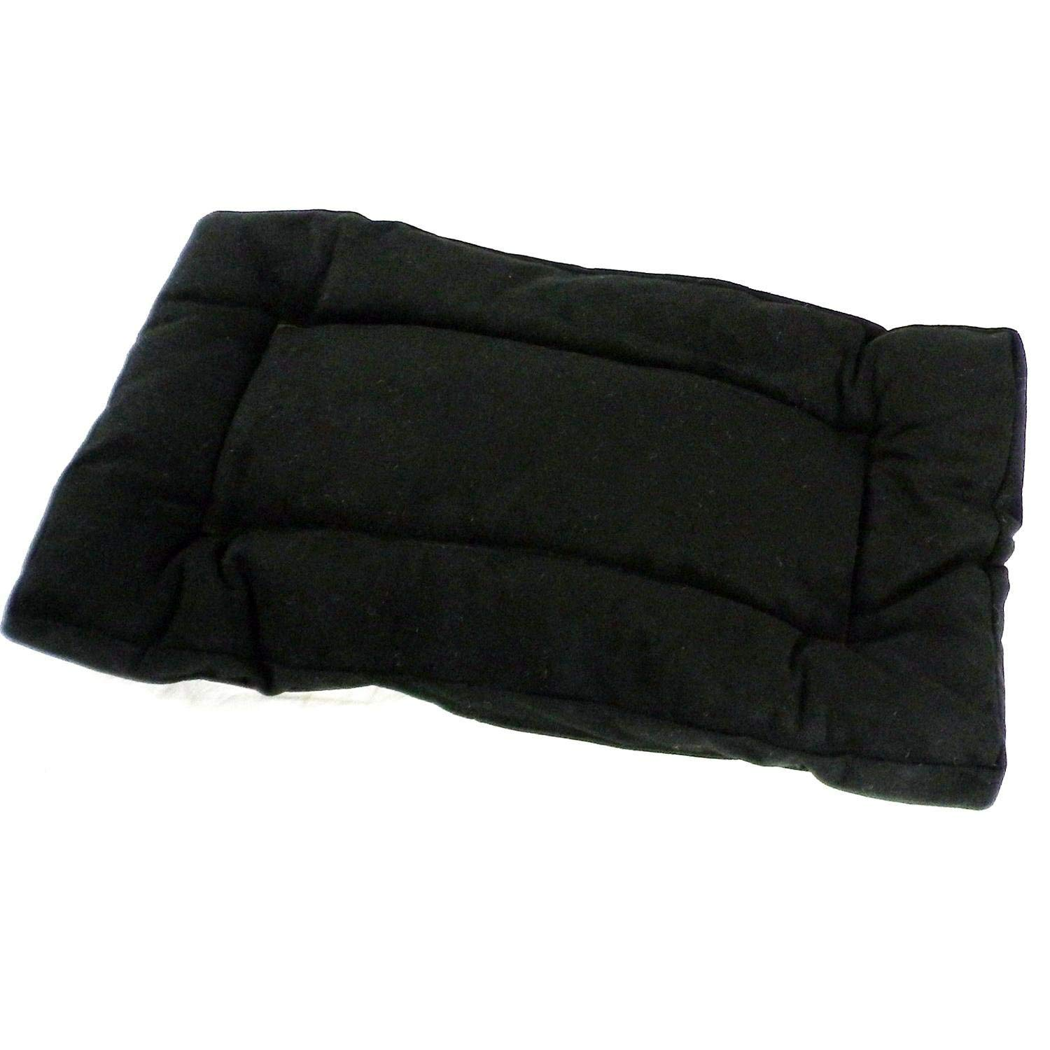 """Outlast Dog Crate Pad Size: Extra Small (24"""" L x 16"""" W), Color: Black"""