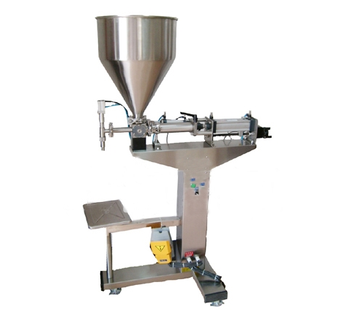 Floor type semi-automatic balm filling machines