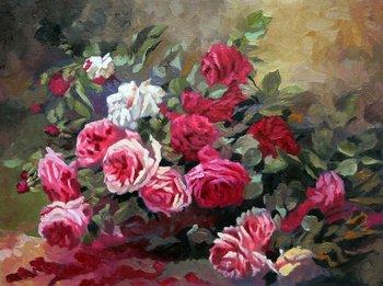 Pittura a olio di fiori buy dipinti ad olio product on for Vasi di fiori dipinti