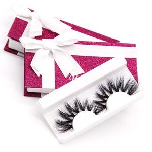 25mm luxury light weight mink eyelashes vendor with eyelash paper box
