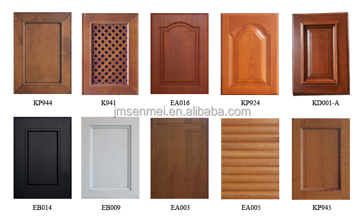 SM-1 Popular kitchen cabinet design ready made pvc kitchen ...