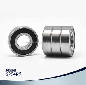 6204-2RS 20*47*14mm Price list China cheap deep groove ball bearing