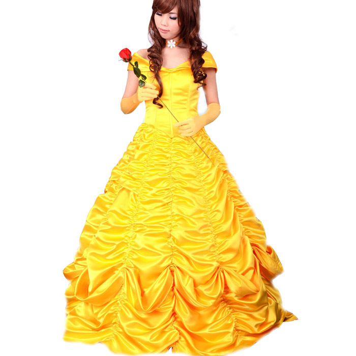adult princess belle costume women beauty and the beast ...
