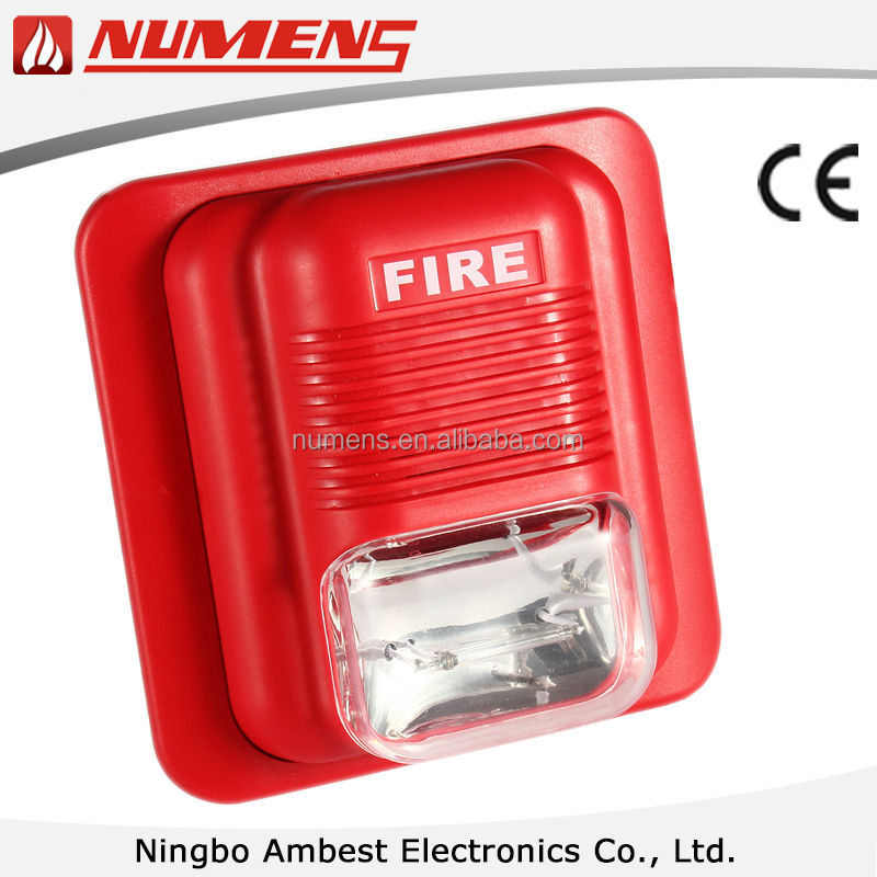 Fire Siren And Light,Sounder And Strobe For Fire Alarm Application ...