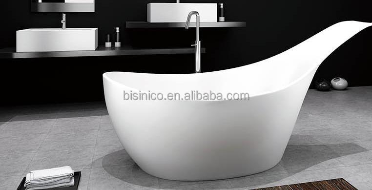 Moderne permanent gratuit baignoire, Pierre artificielle meubles ...