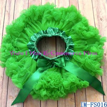 41670d099 Persnickety de Navidad de los niños día Extra Fluffy Tutu Petti faldas en verde  para niño