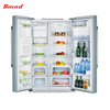 Horizontal Refrigerator With Crisper Drawer Stainless Steel Fridge Kitchen Fridge