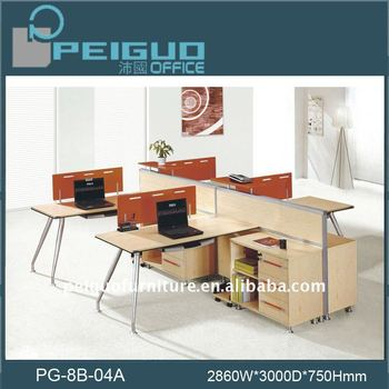 PG 8B 04A Stylish Modular Furniture Office Partition Design
