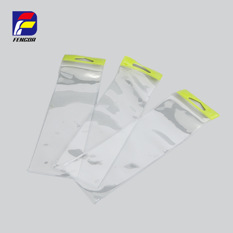 wholesale strong sealed pvc eva clear water proof bag, clear plastic packaging bag