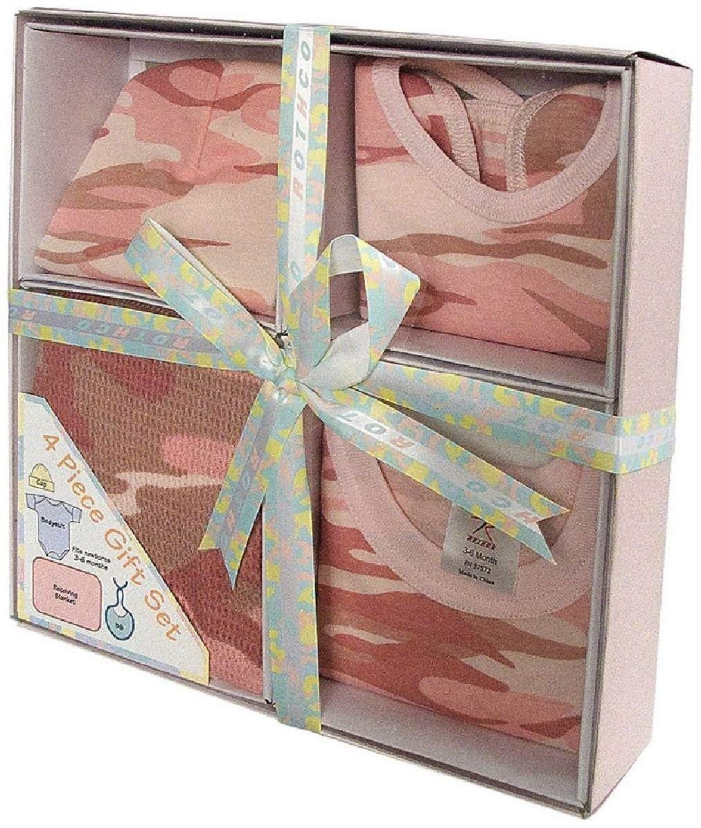 Camouflage Infant Baby Newborns Gift Set