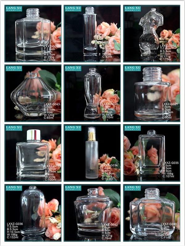 LX woondecoratie luxe nieuwe ontwerp ronde luchtverfrisser parfum glas reed diffuser flessen