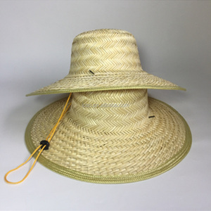 Promotional blank fishing hat custom Straw Hat straw boater hat wholesale 528ccc9d0b4c