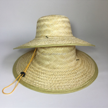 671154c687d94 Promotional blank fishing hat custom Straw Hat straw boater hat wholesale