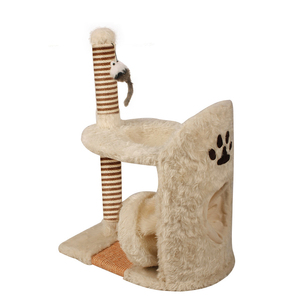 Fine pet products wholesale cat tree with tunnel