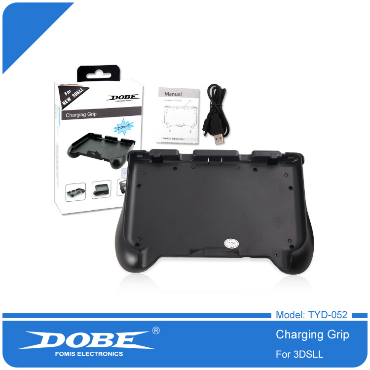 DOBE Hand Grip Holder Gaming Case Handle Stand for New Nintendo 3DS LL/XL Charging Grip