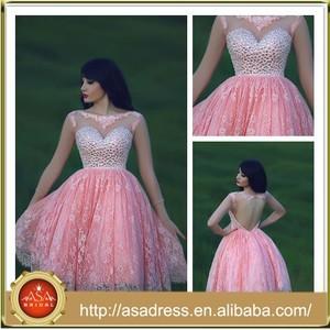 b46868ca249 SMD09 Summer 2015 Girl Party Dress Fashion Short Rhinestone Lace Prom  Dresses