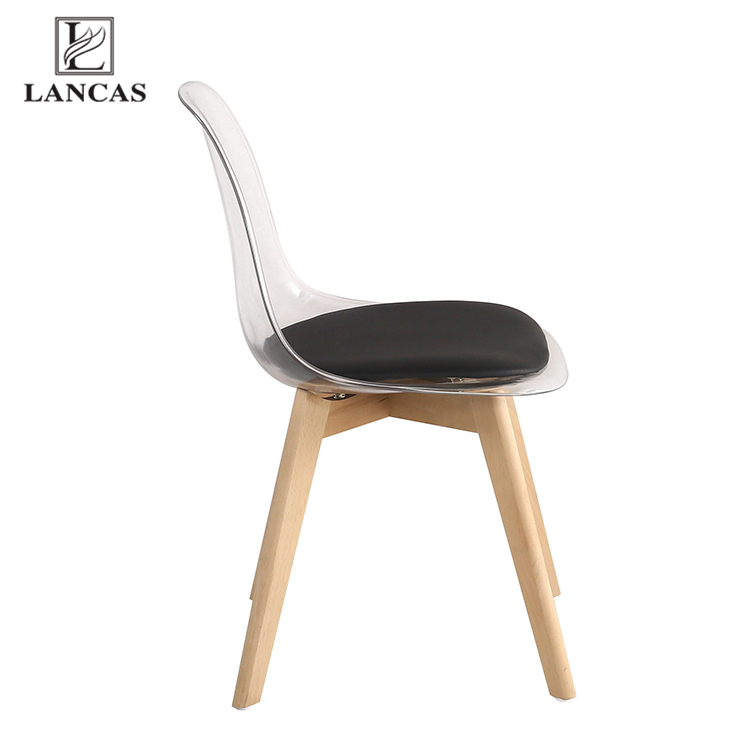 Factory outlets burst models SGS certificate luxury cafe plastic dining chair