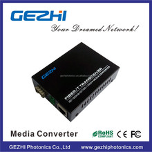 Media converter RJ45 SM/MM sc connector 20km ethernet to fiber optic