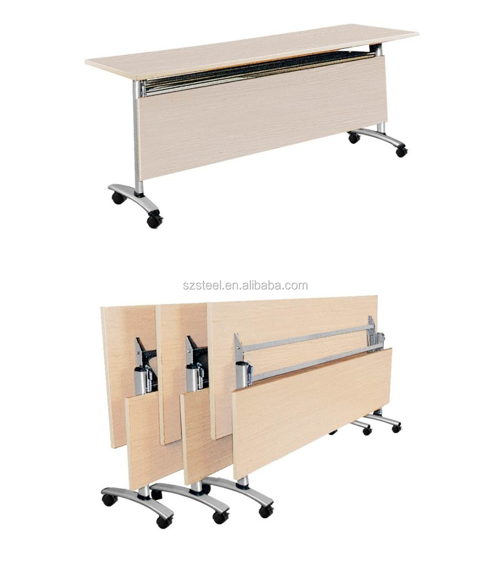 Wooden Foldable Training Table folding Table Desk Buy