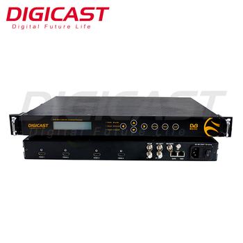 Mpeg2 Mpeg4 HD SDI To DVB S2 Iptv Headend 2 Cable Tv Digital Encoder