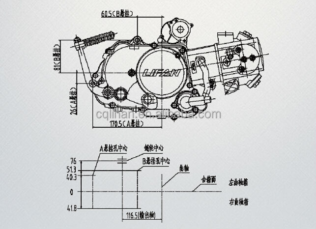 water cooled lifan 125cc automatic engine for cub motorcycle view rh cqlihan en alibaba com 125cc pit bike engine diagram 125cc atv engine diagram