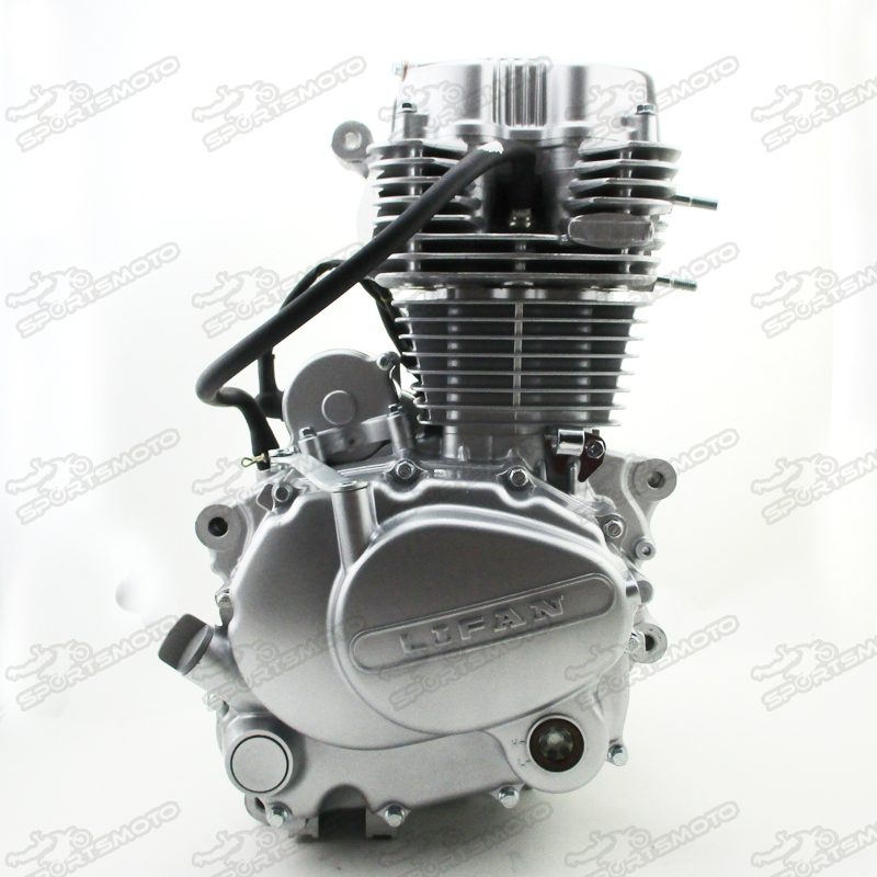Lifan 250cc Cg Engine Moto 5 Speed 167fmm Air Cooled With Reverse ...