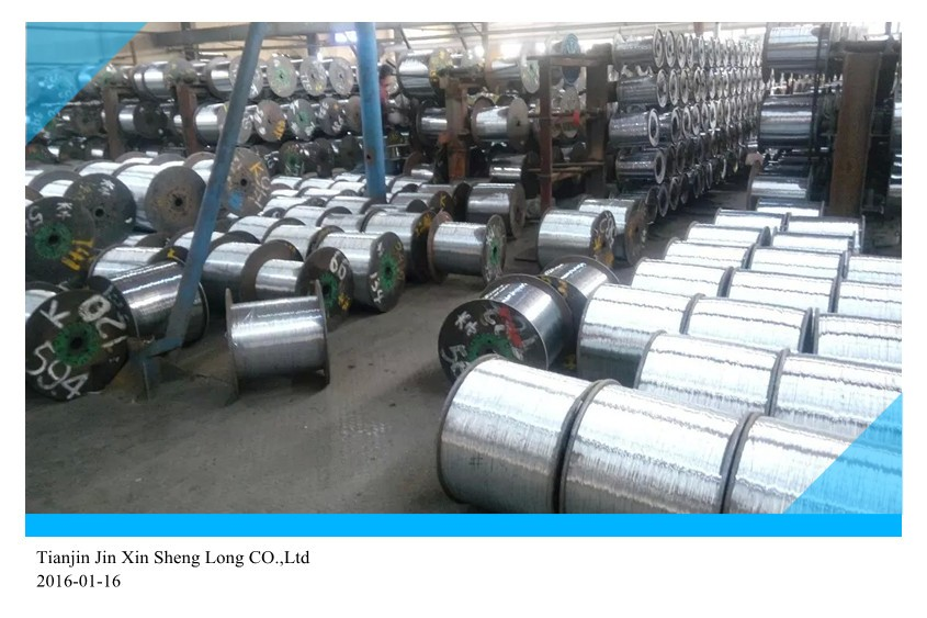 M.s.wire zinc coated