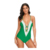 Women Sexy Lingerie Bodysuit Spaghetti Strap Lace Bandage Bodysuit Crochet Deep V Neck High Quality Mature One-Piece Monokini