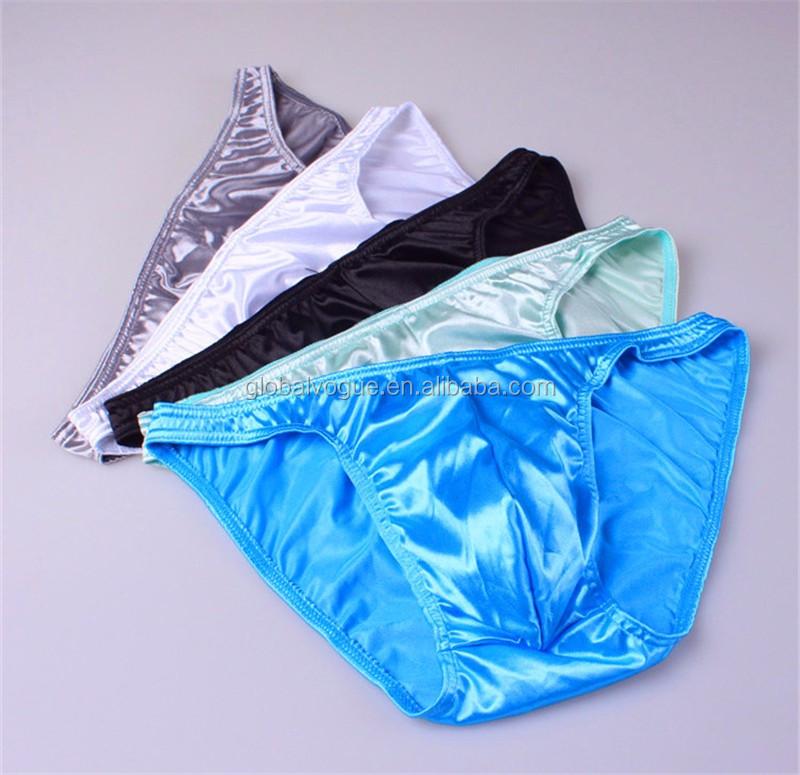 Homme Aspect Cuir Sous-vêtements Boxer Shorts poche String Sous-vêtements